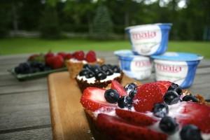 Fresh Fruit and Yogurt Tart