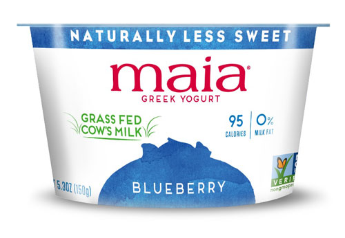 Maia Yogurt Non Fat Greek Blueberry