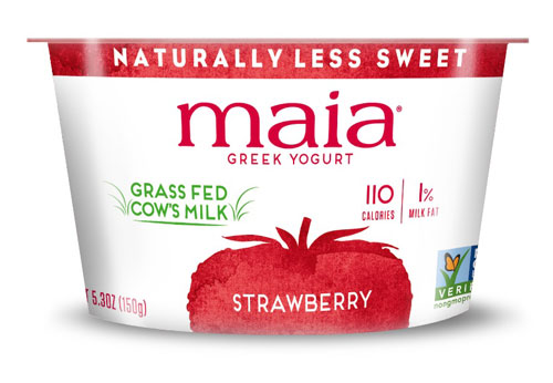 Maia Yogurt Non Fat Greek Strawberry