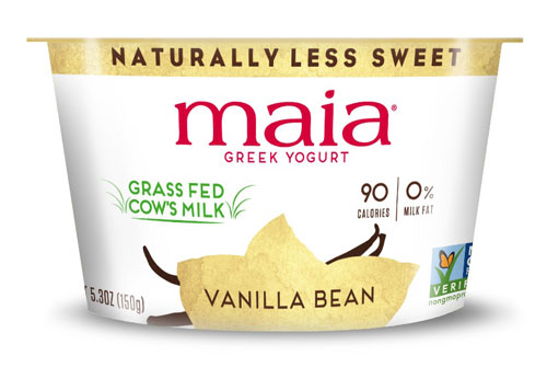 Maia Yogurt Low Fat Vanilla Bean